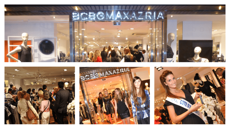Bcbg max azria s 39 installe cannes dpb agency for Dpb agency