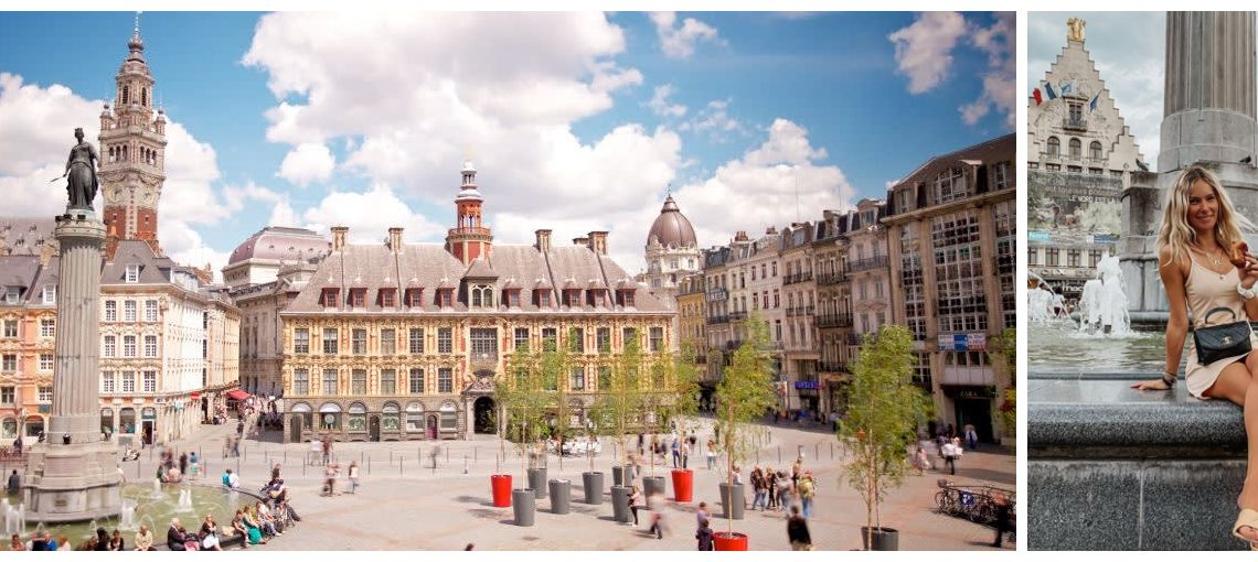 Le Travel Guide de Lille fait par la jolie Cindy, @cindygredziak