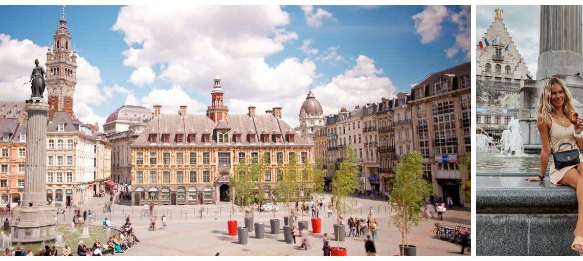 Le Travel Guide de Lille fait par la jolie Cindy, @cindygredziak